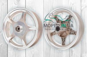 Диск колеса передний 10`‑2.50 литой, 5 спиц, диск, d12 (звезда) #2