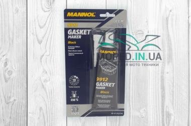 Герметик  85г  черный, силиконовый  230C  MANNOL (9912)