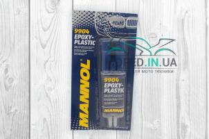 Клей  эпоксидный, 30г, для пластика  MANNOL (9904)