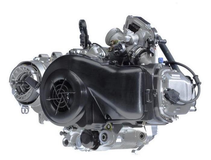 двигатель скутера Сузуки